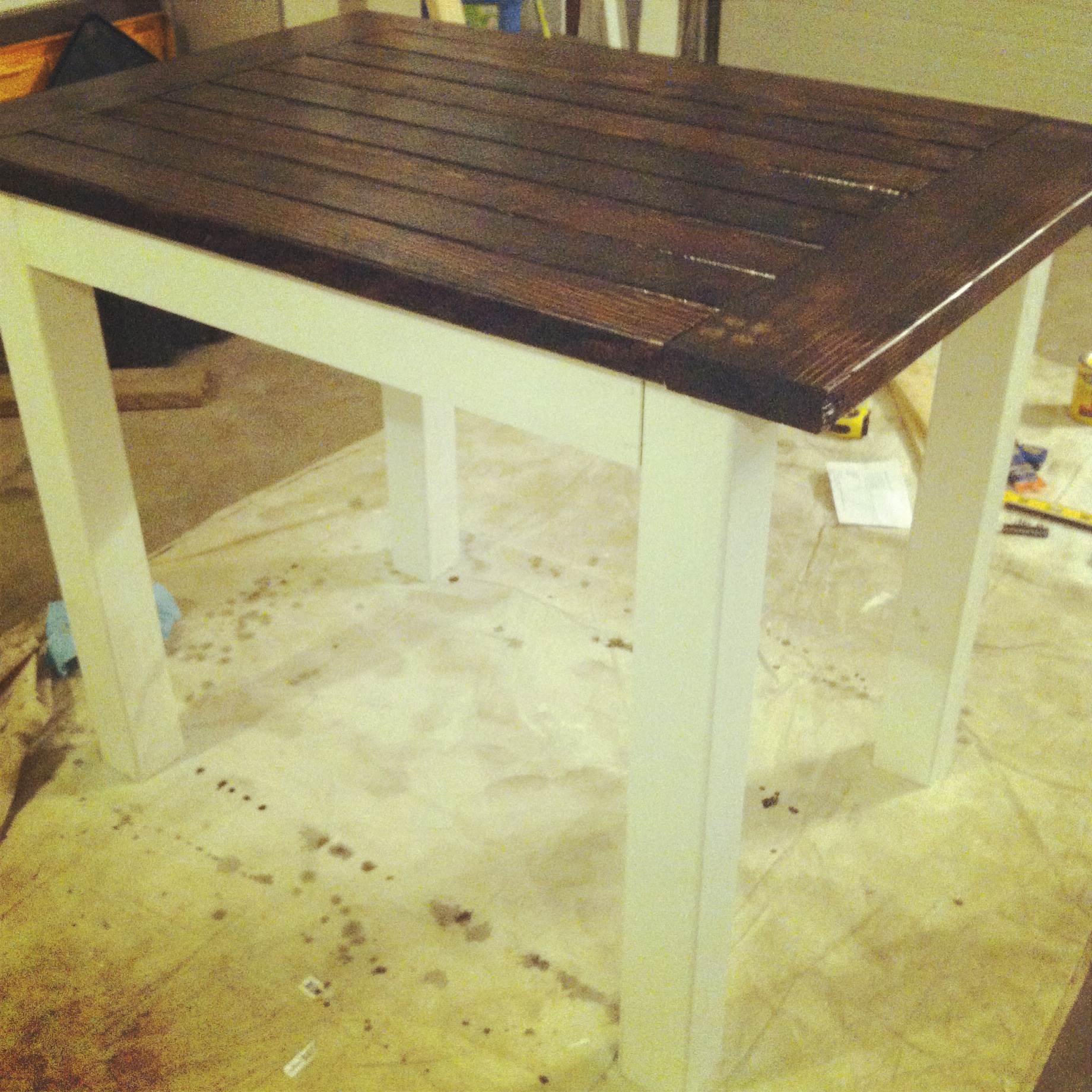 Ana White Tryde Counter Height Table - DIY Projects
