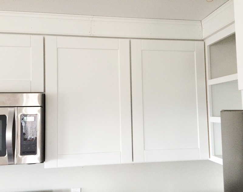 paneled kitchen cabinets white 45 quot wall kitchen cabinet diy projects 24574