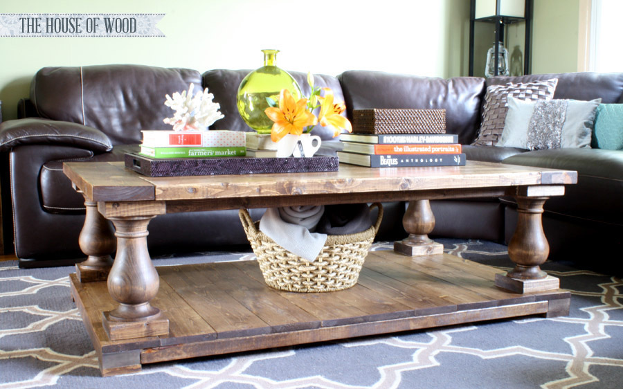 Diy Baluster Coffee Table Plans From Ana White Com