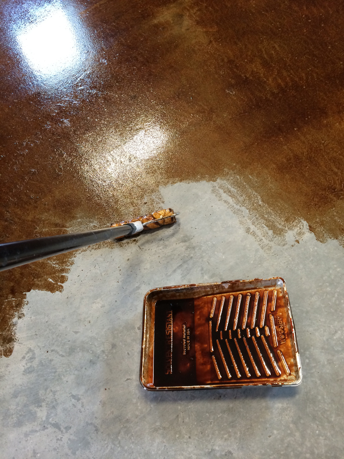 Staining And Finishing Concrete Floors