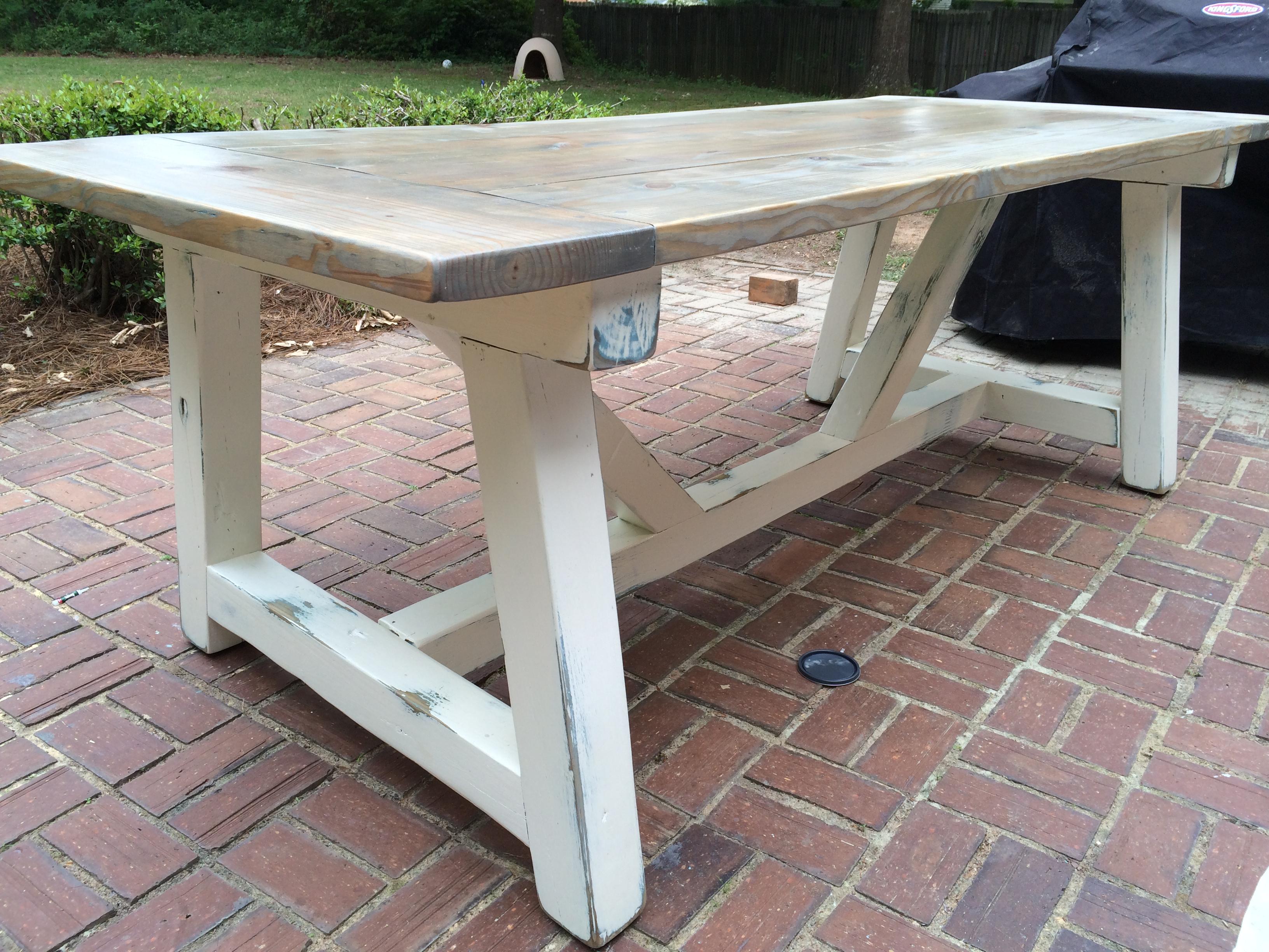 Pleasant 4X4 Truss Beam Table Ana White Machost Co Dining Chair Design Ideas Machostcouk