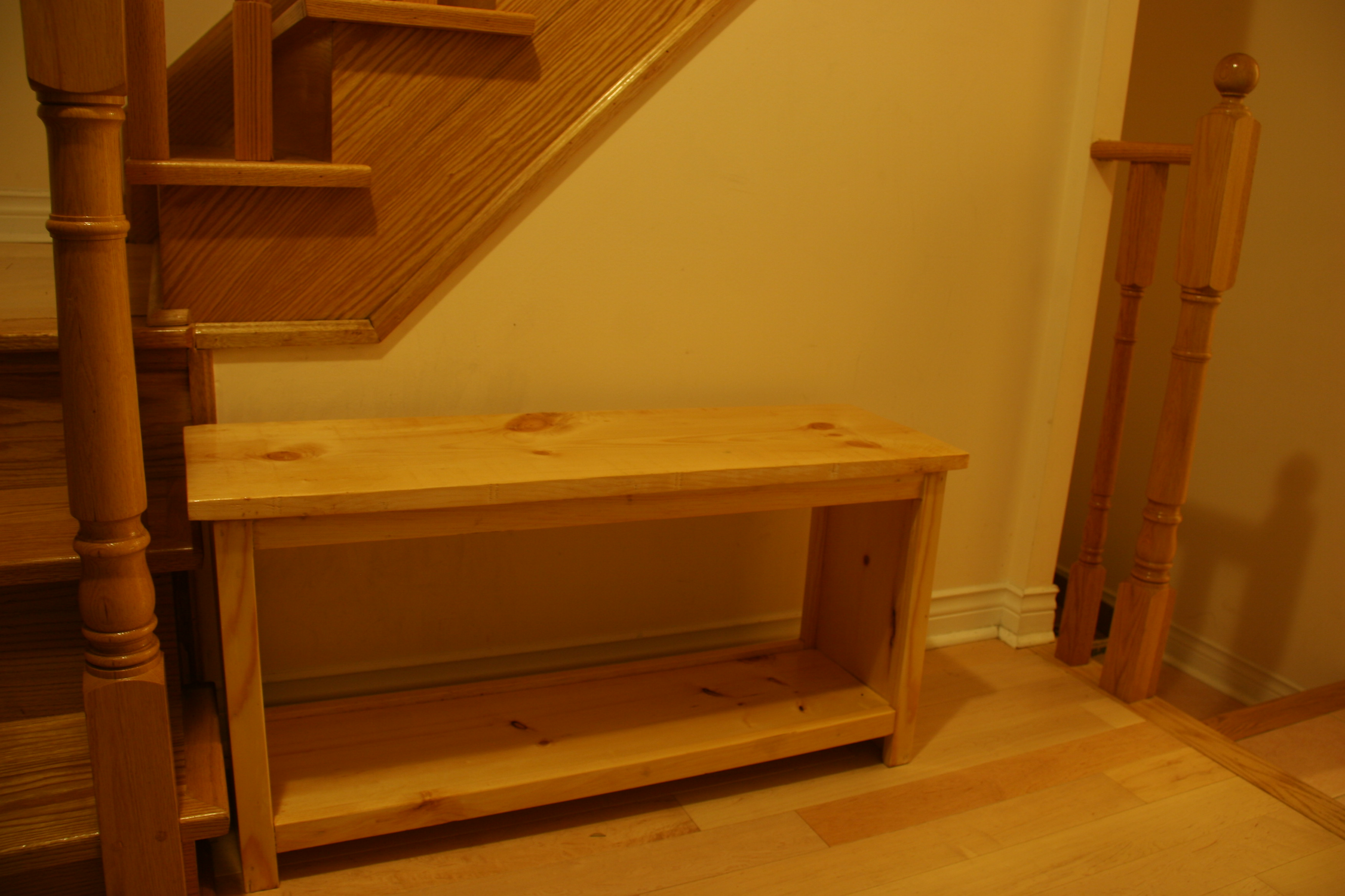 Ana White | Simple Entryway Bench - DIY Projects