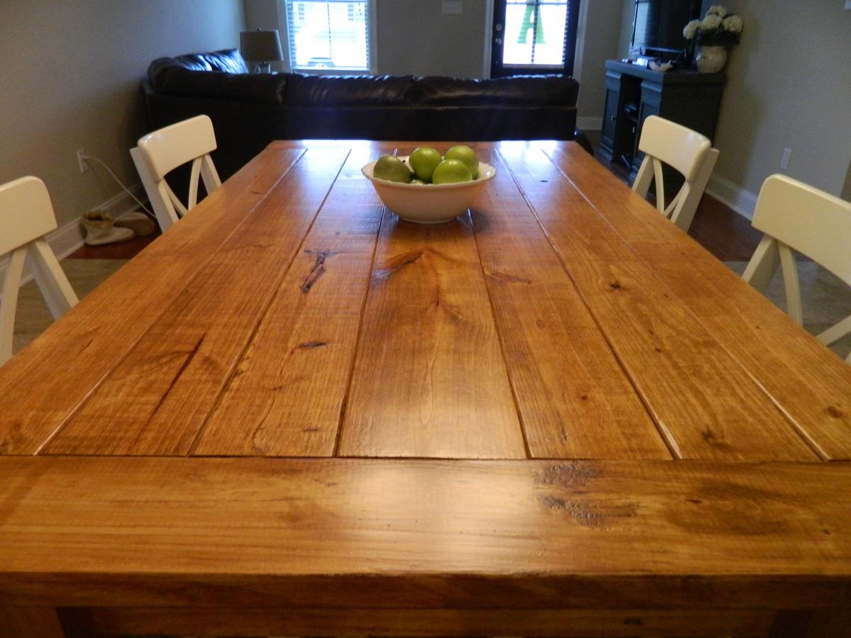 Husky Farmhouse Dining Table Ana White