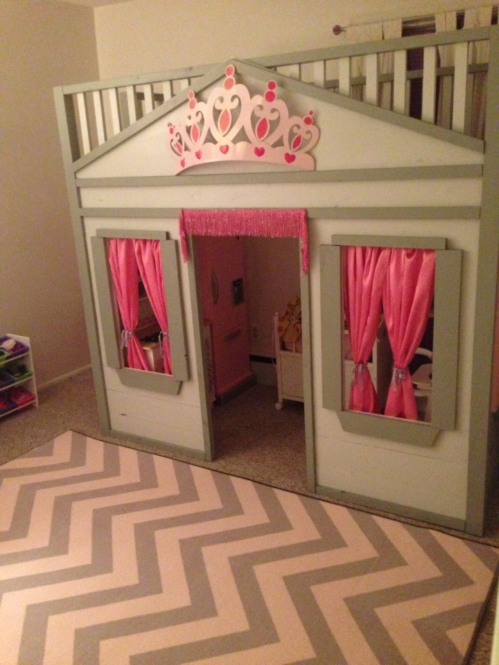 Ana White | Cottage Loft Bed - DIY Projects