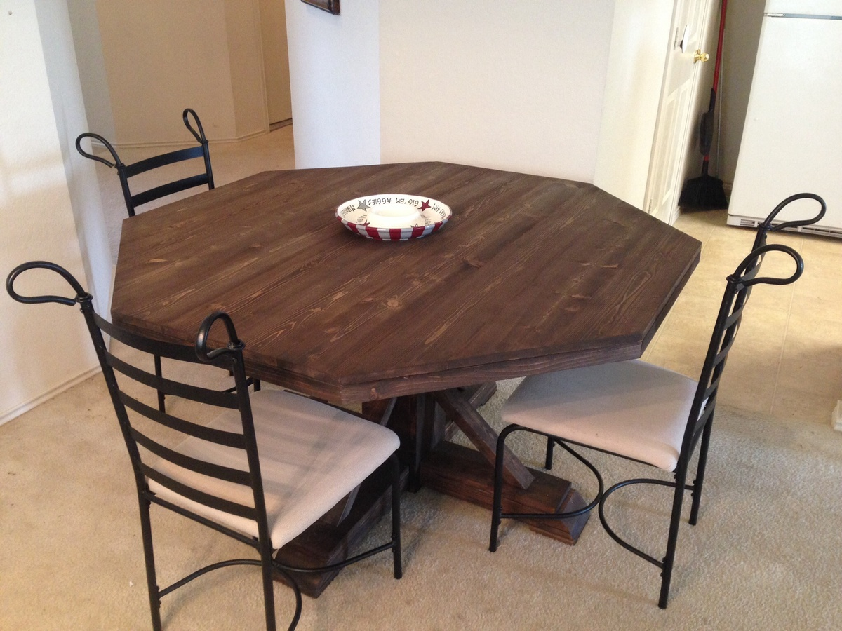 ana white | octagon table - diy projects