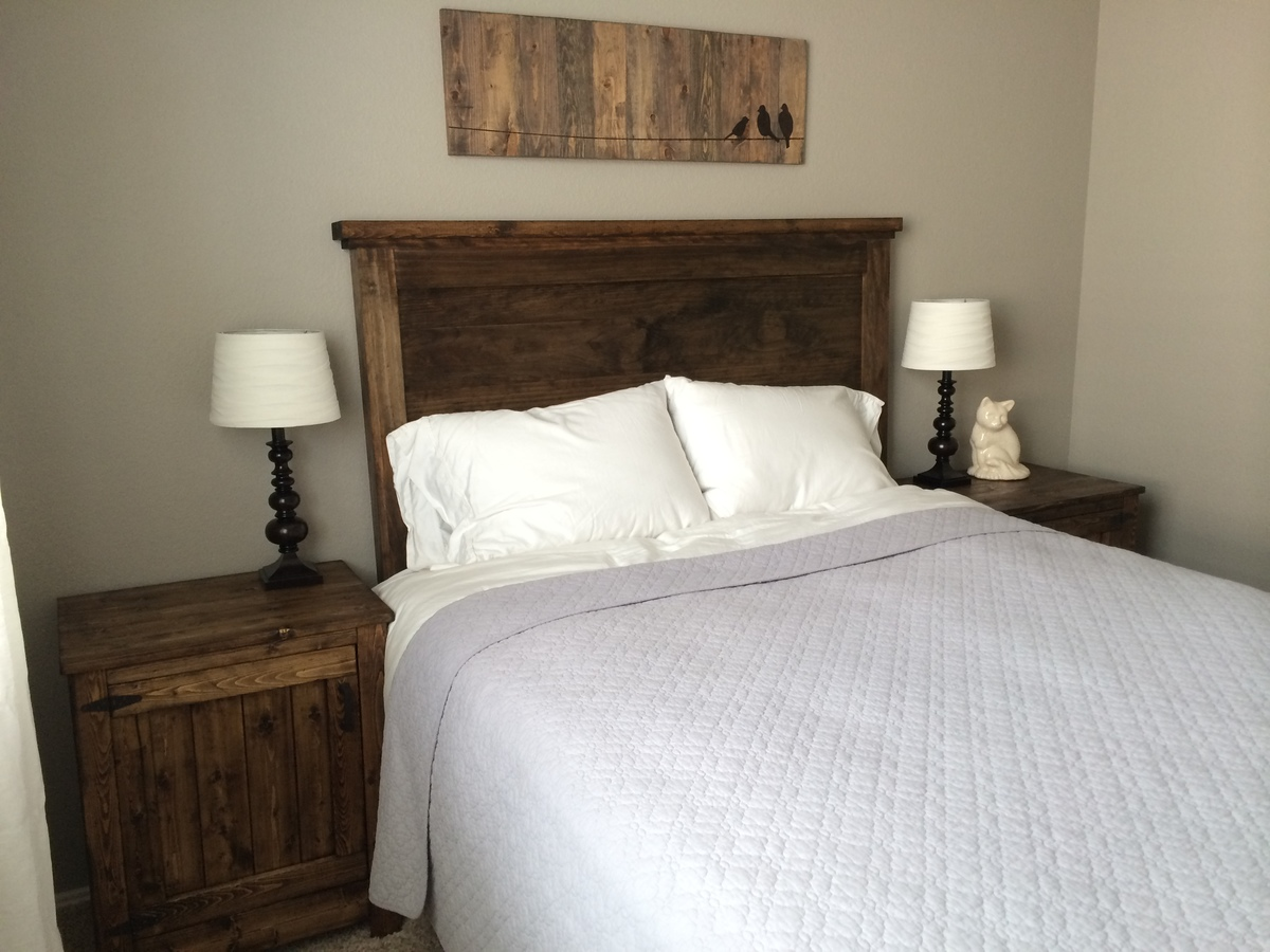 Ana White Headboard And Nightstands Diy Projects