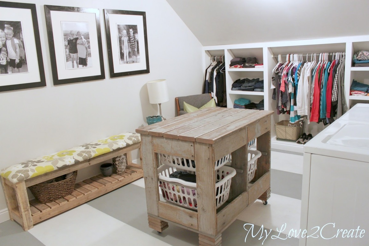 Ana White Old Deck Wood Laundry Crate Diy Projects