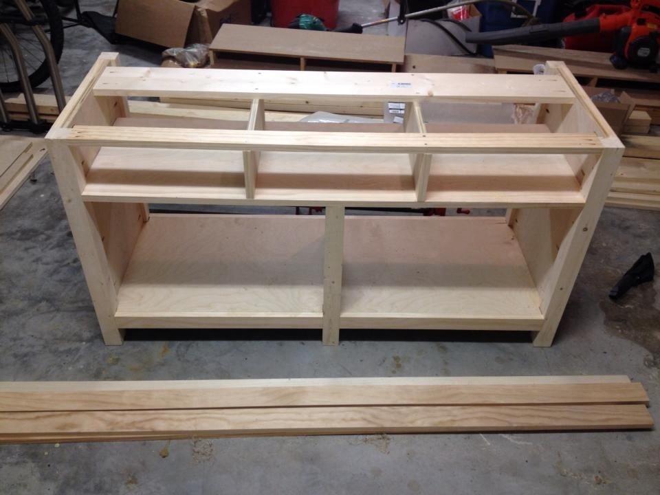 Ana White Benchwright Console Diy Projects