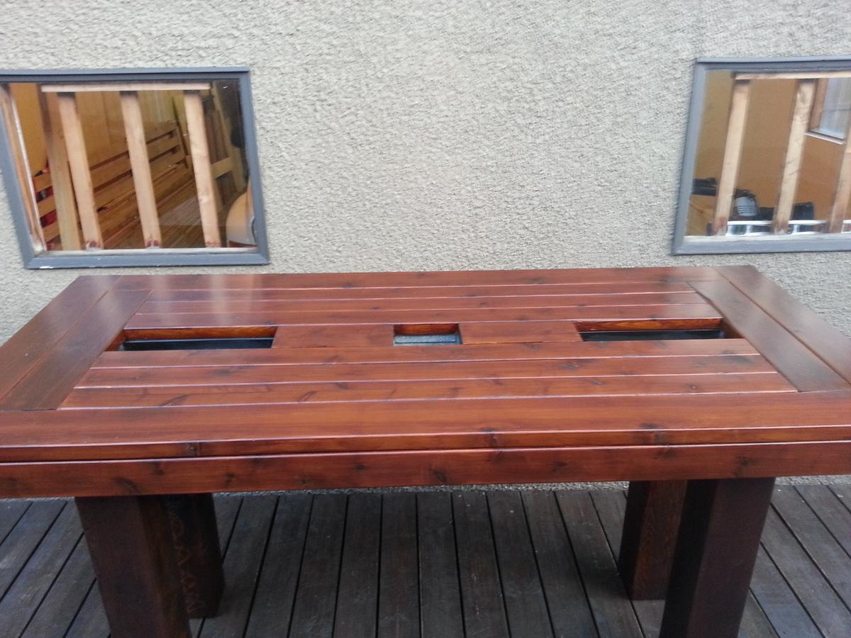 bar height patio table Ana White | Bar Height Patio Table   DIY Projects bar height patio table