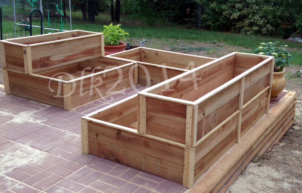 Nice Additional Photos: About This Project. I Used The Basic Raised Cedar Garden  Bed ...