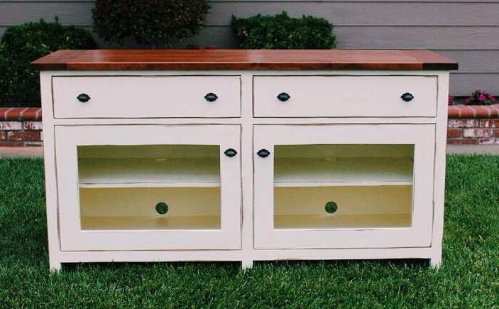 Ana White Pottery Barn Benchwright Tv Stand Diy Projects