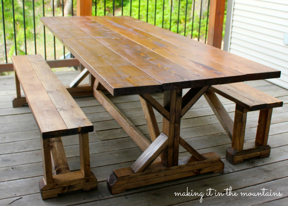 Ana White Diy Pottery Barn Inspired Table Diy Projects