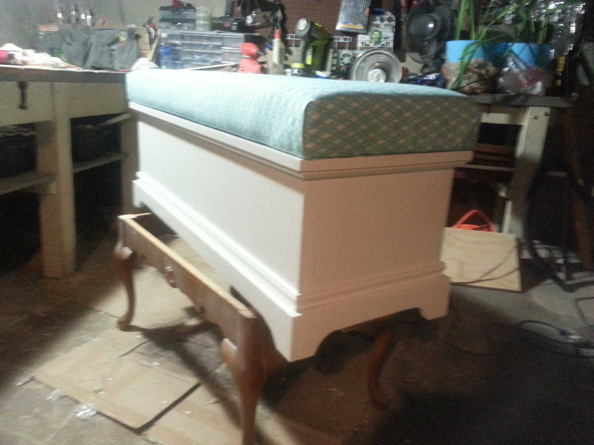 Ana White Toybox Chest Turned Window Seat Diy Projects