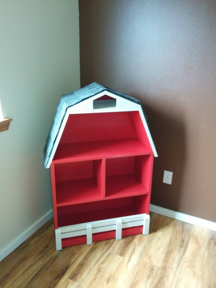 Ana White Baby Teyla S Barn Bookshelf Diy Projects