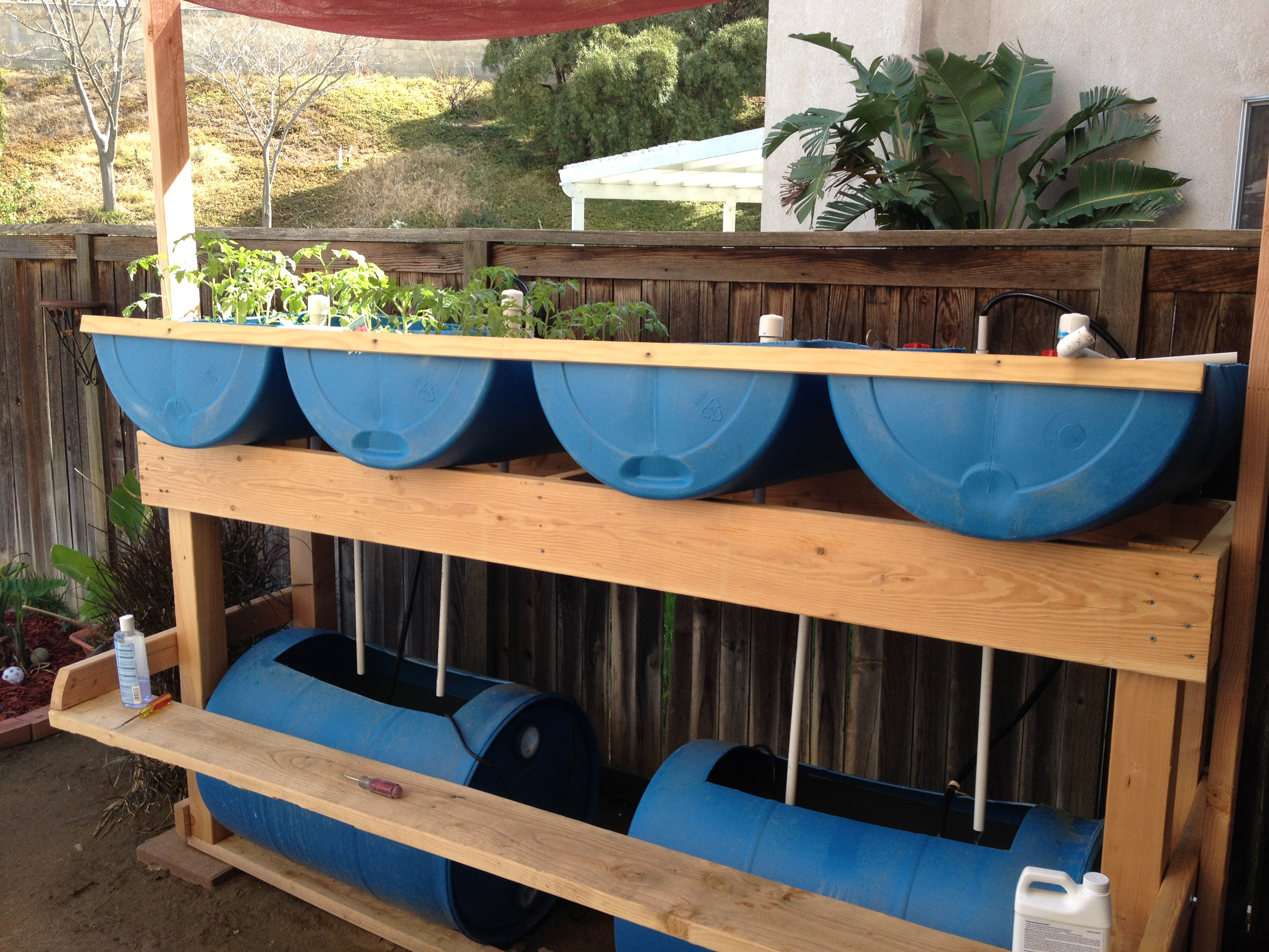 Ana white aquaponics garden diy projects solutioingenieria Image collections