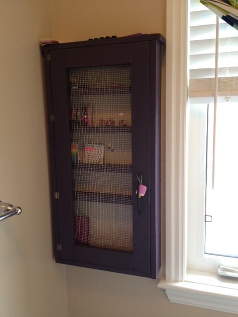 Ana White Nail Polish And Accessories Cabinet Diy Projects