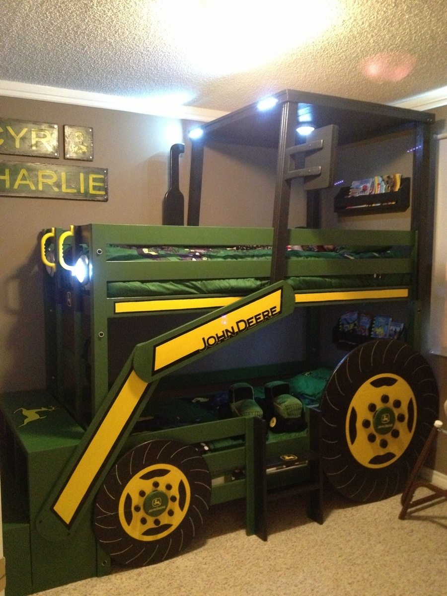 Ana White | John Deere Tractor Bunk Bed DIY Projects