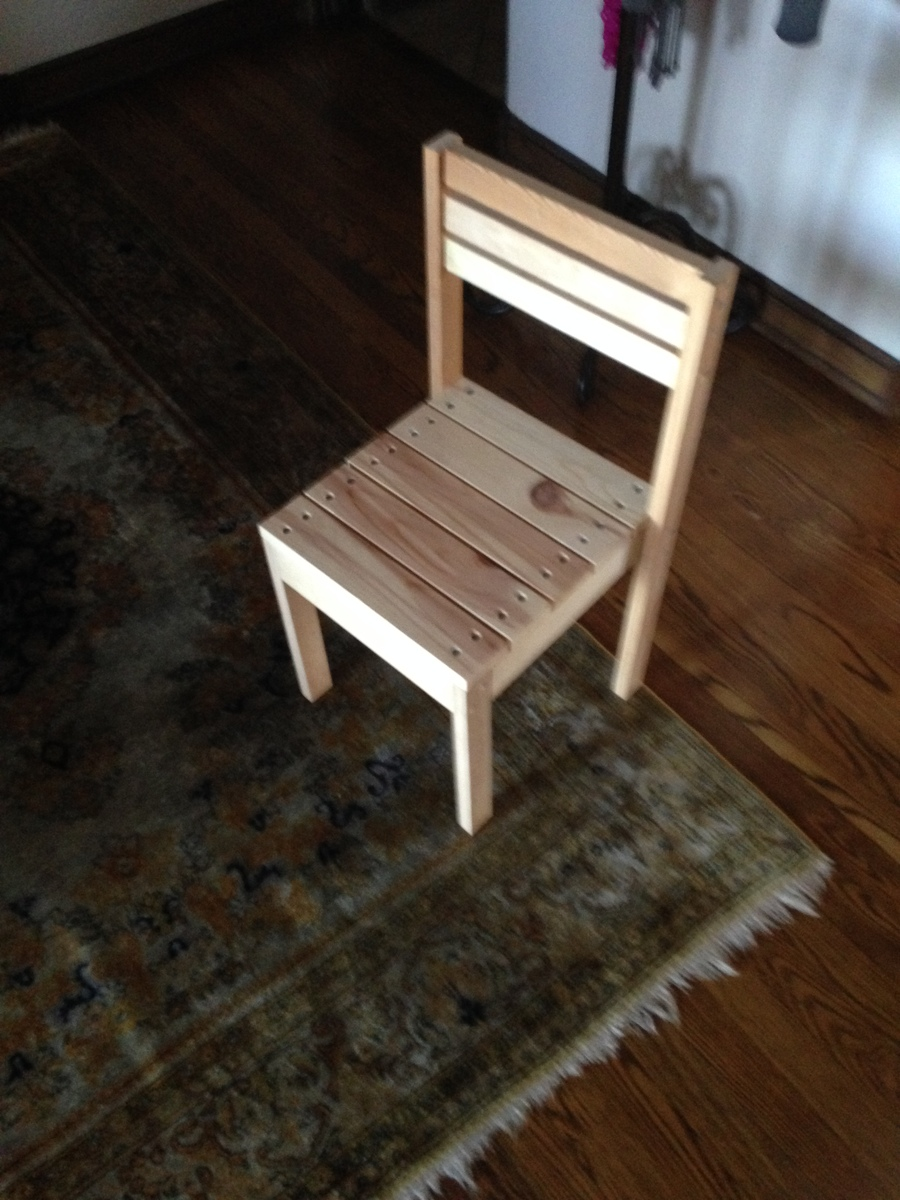 Ana White Kid Stackable Chair Diy Projects