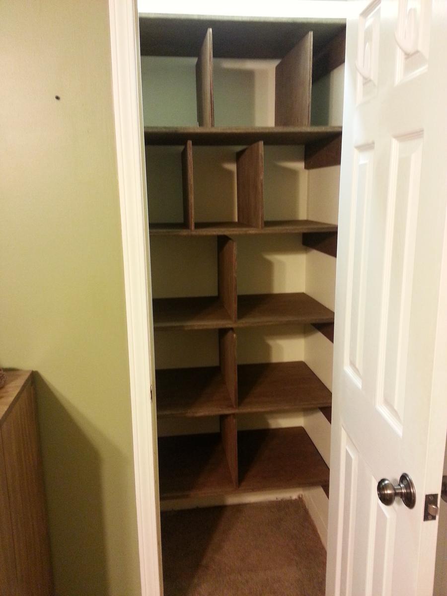 Linen Closet Shelves Ana White