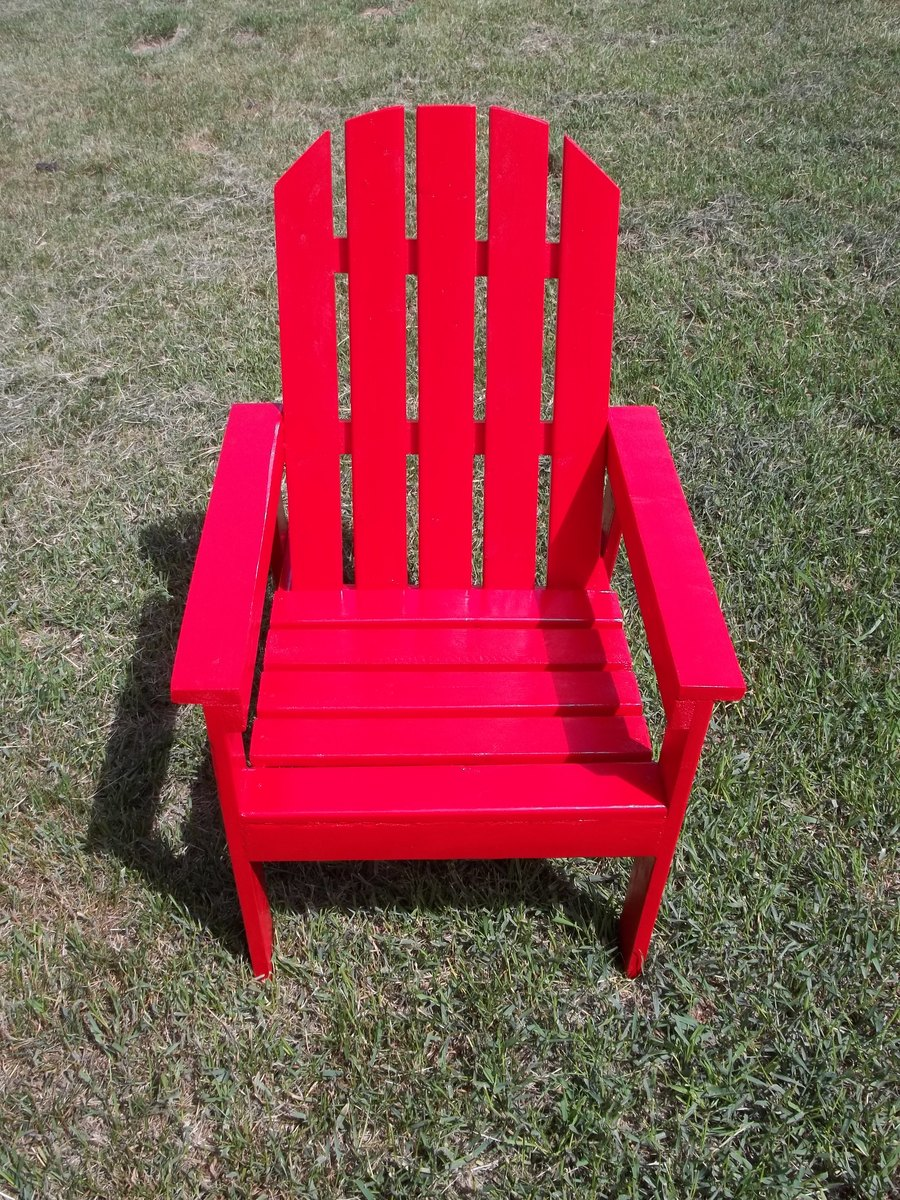 Ana White Kid Sized Adirondack Chair For Charity Diy
