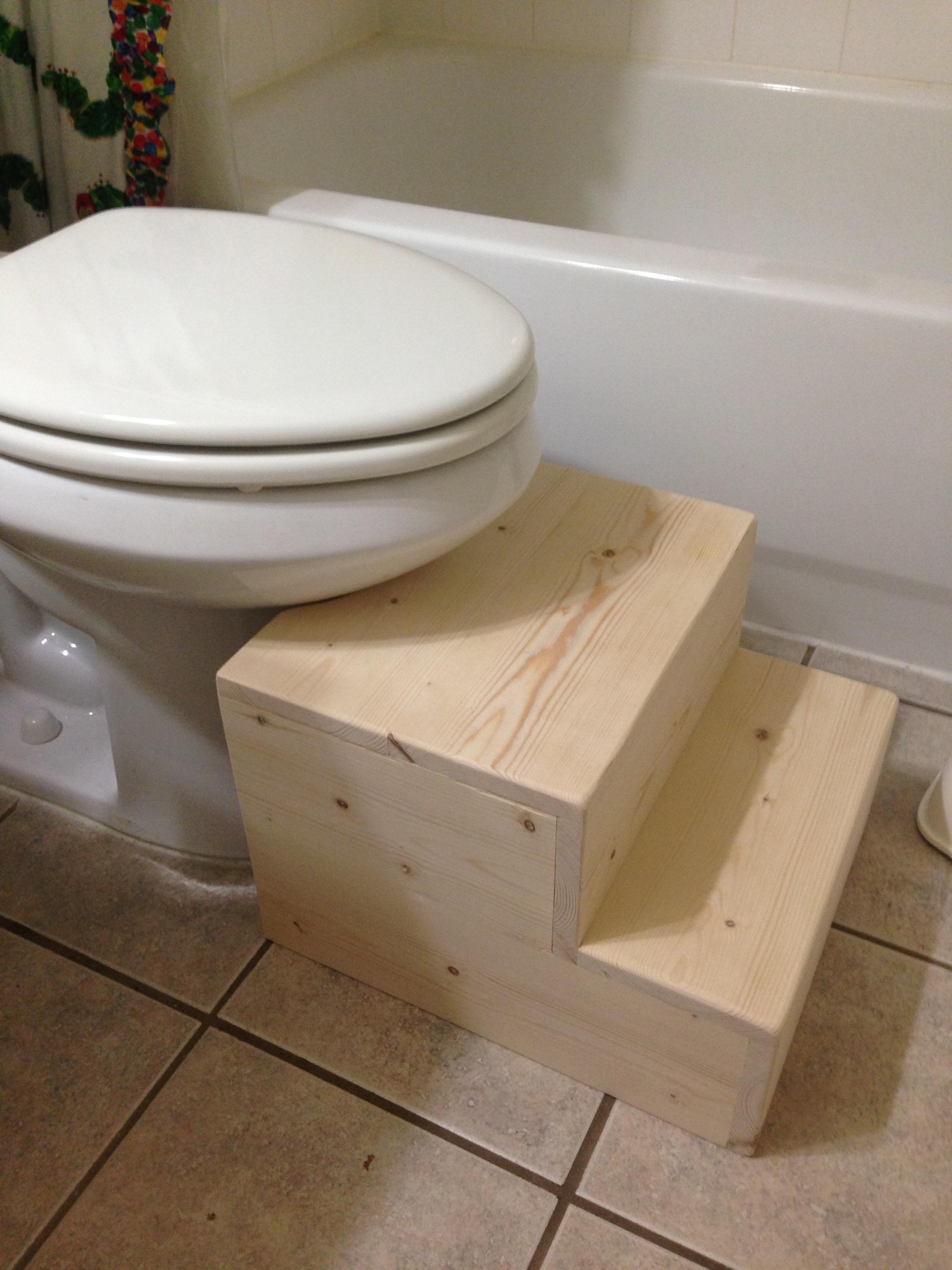 Amazing Toilet Step Stool Ana White Inzonedesignstudio Interior Chair Design Inzonedesignstudiocom