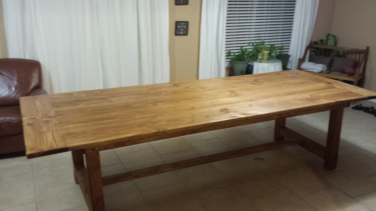 big farmhouse table