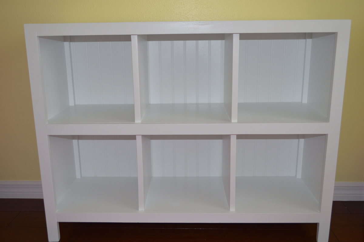 Ana White 6 Cube Bookshelf Diy Projects