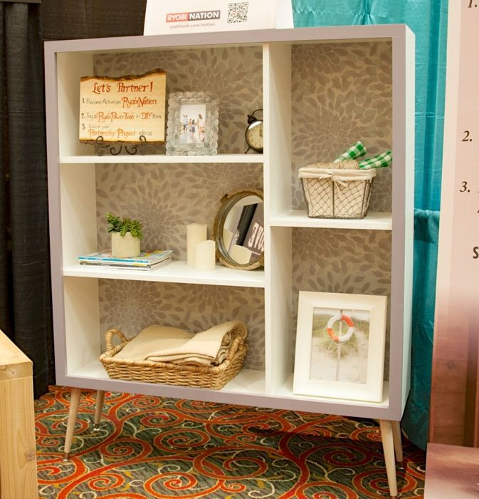 Ana white mid century modern bookshelf for ryobi nation diy projects - Modern bookshelf plans ...