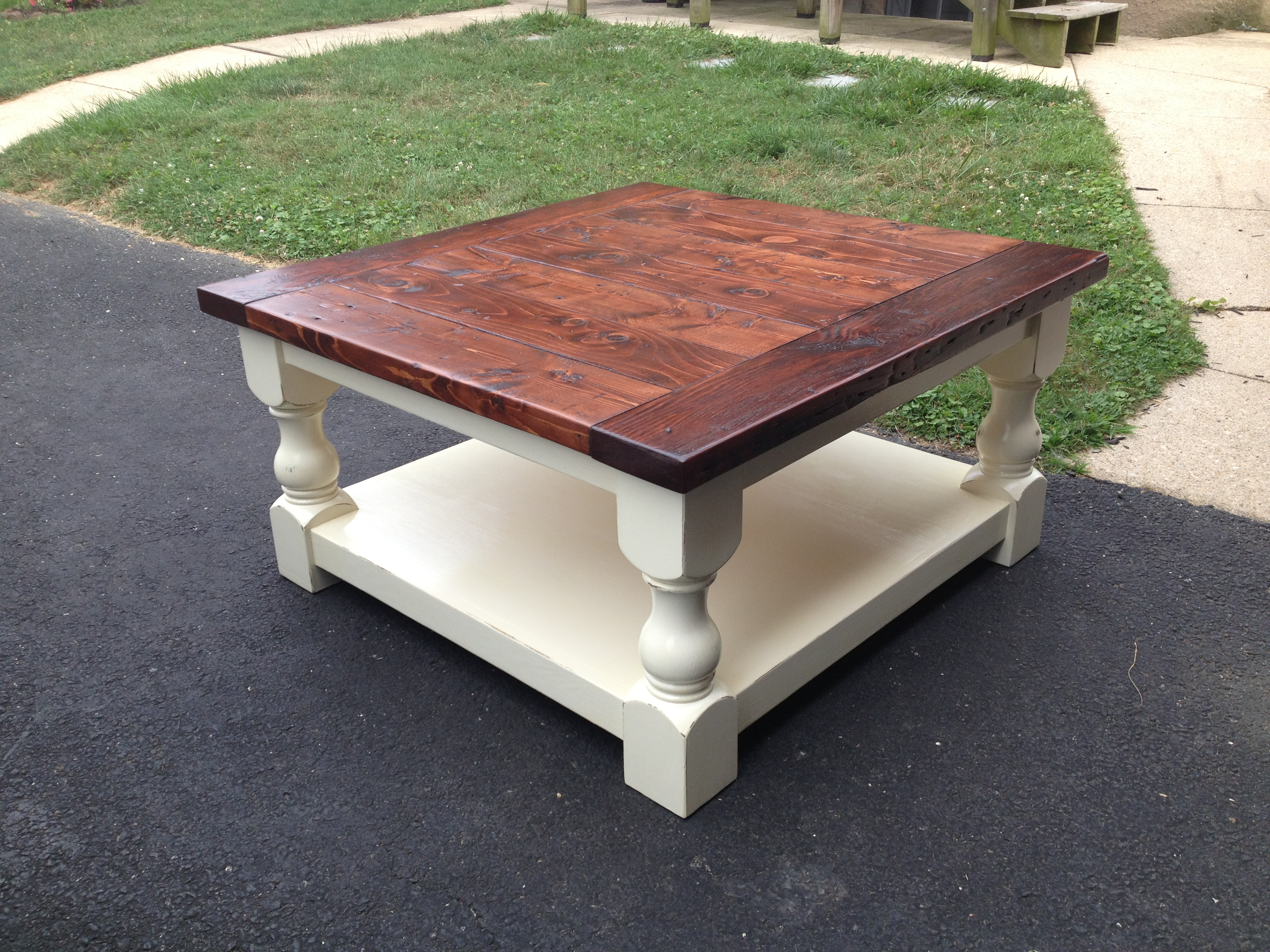 ana white corona coffee table diy projects