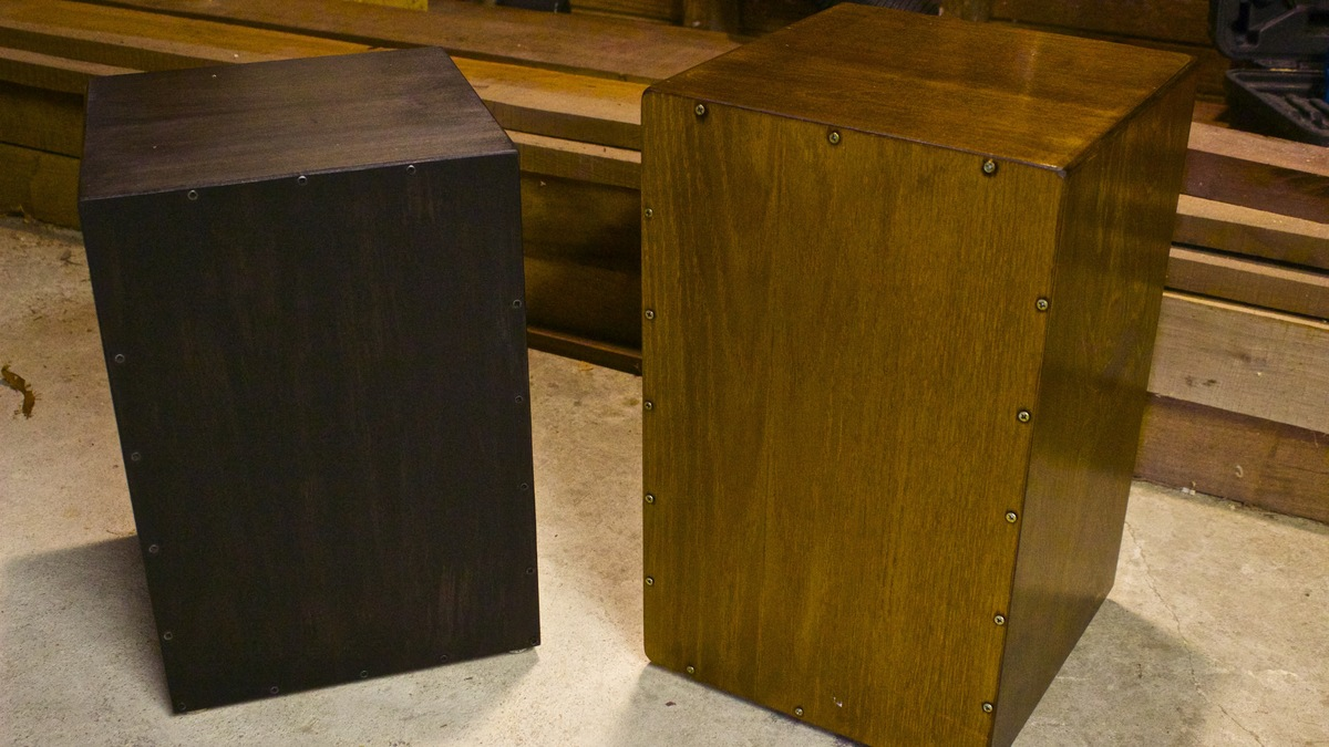 Ana White | Build a Cajon Drum - DIY Projects