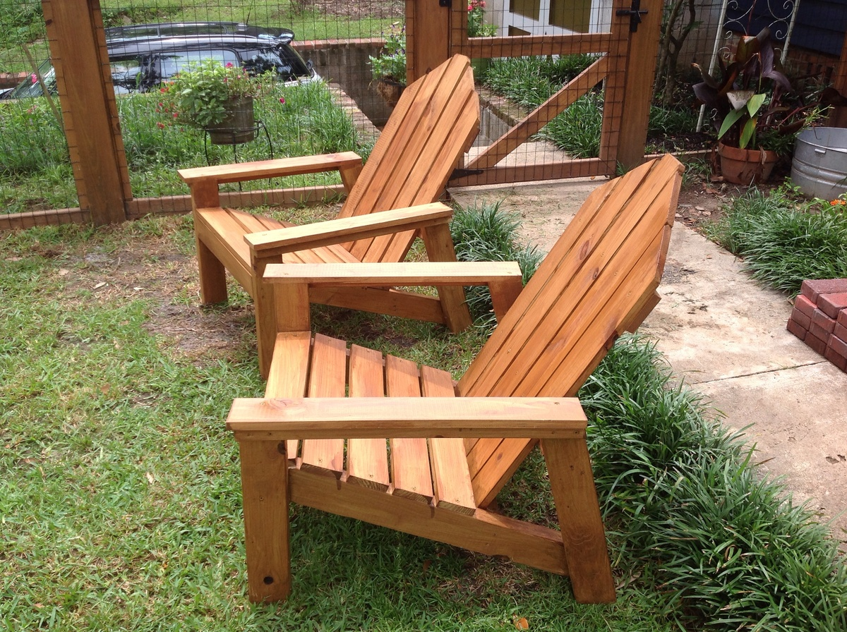 Ana White Adirondack Chairs Diy Projects