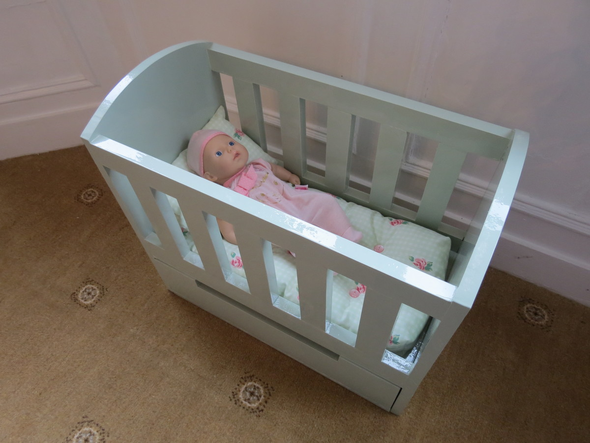 Ana White Olivias Doll Crib Diy Projects