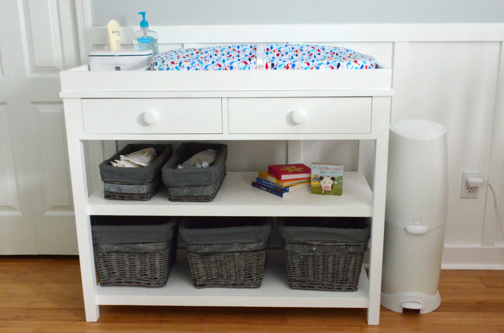 ana white | ultimate changing table - diy projects