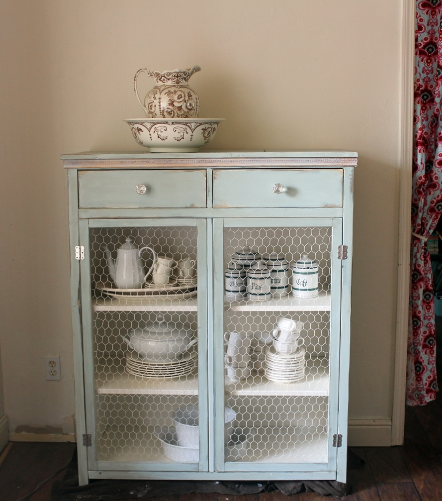 Delicieux Hemnes Cabinet With Wire Mesh