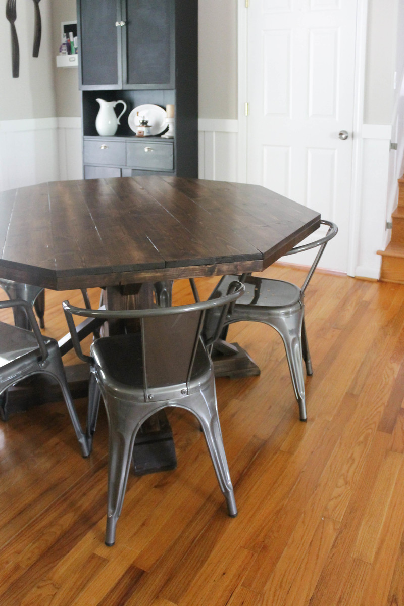 Ana White Diy Octagon Table Diy Projects