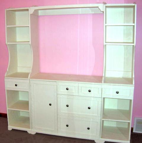 Ana White   Madeline Side Hutches for the Nursery Changing Wall ...