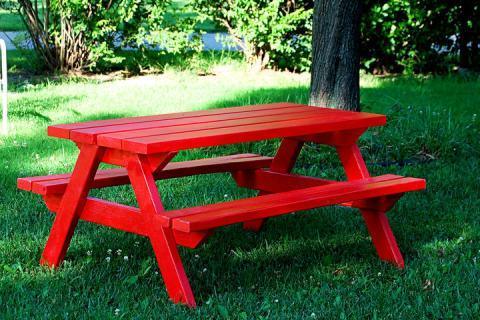 ana white picnic table 1
