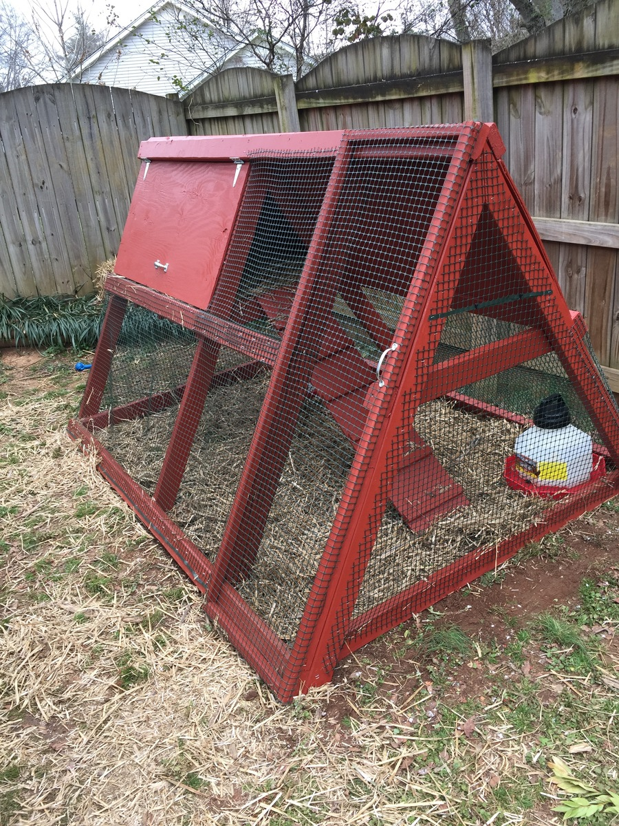 Ana White   A Frame chicken coop! - DIY Projects