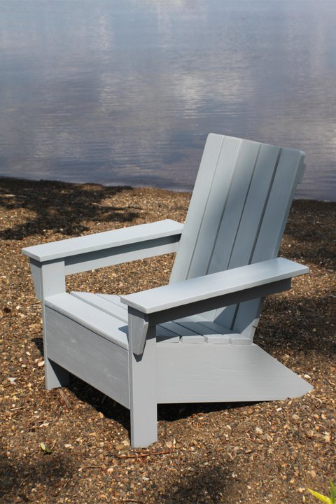 Ana white ana 39 s adirondack chair diy projects - Plan fauteuil en palette de bois ...