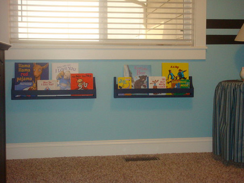 Ana White Flat Wall Bookholders Diy Projects