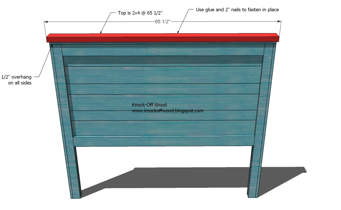 Diy Wood Bed Headboard Plans: Ana White   Reclaimed Wood Headboard  Queen Size   DIY Projects,