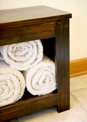 Ana White   Spa Bench - DIY Projects