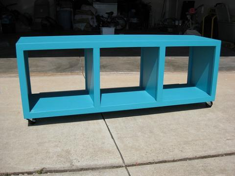 Ana White Rolling Cubby Bench Diy Projects