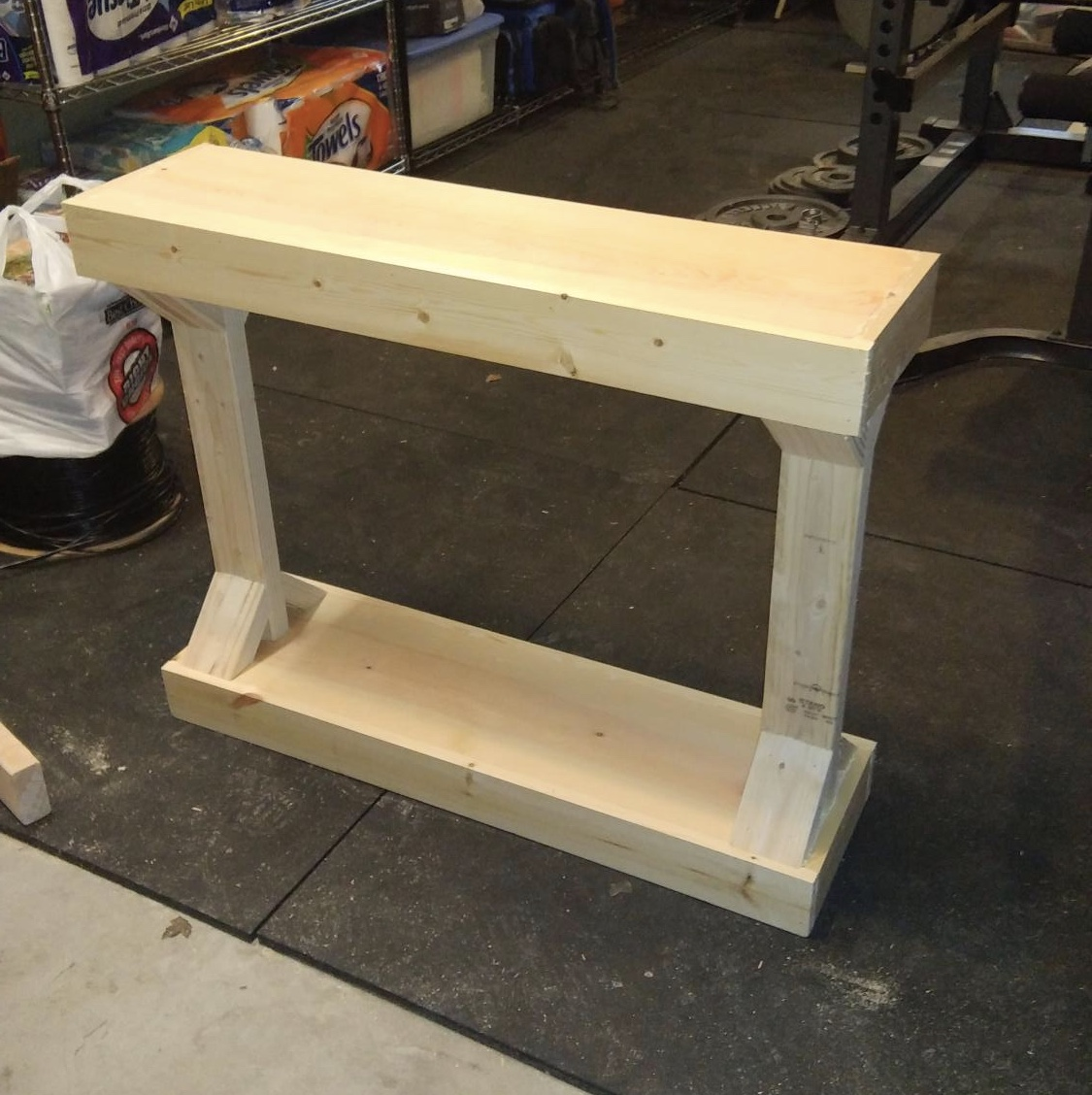 Small Entry Table Ana White