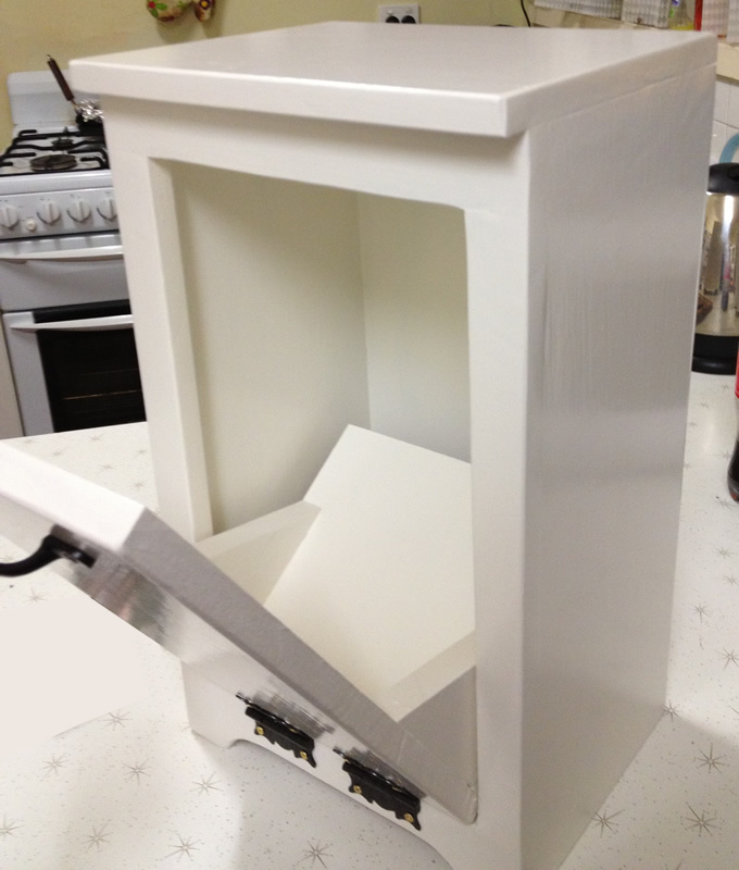 Ana White Tilt Out Bin Diy Projects