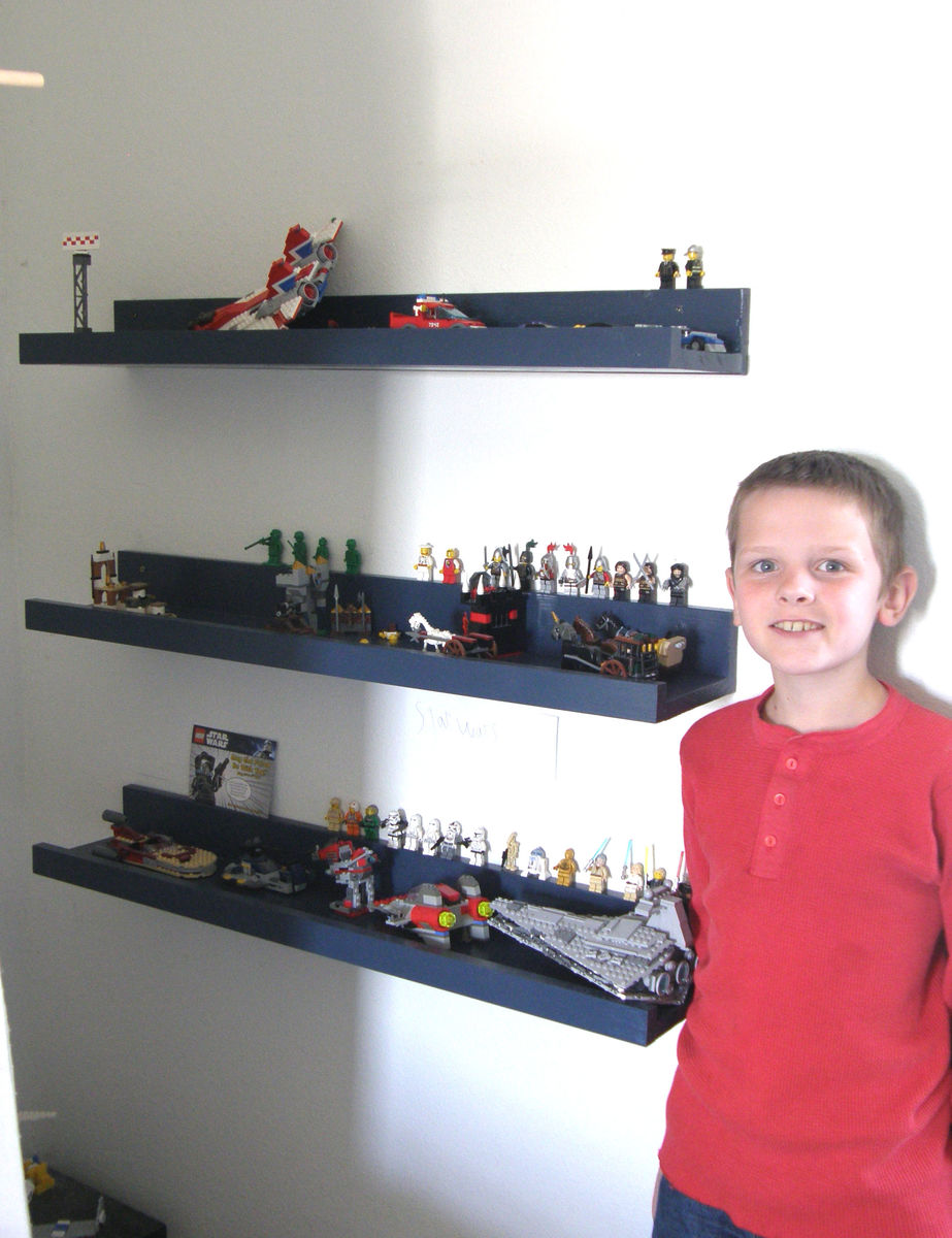 Ana White | Lego display shelves - DIY Projects