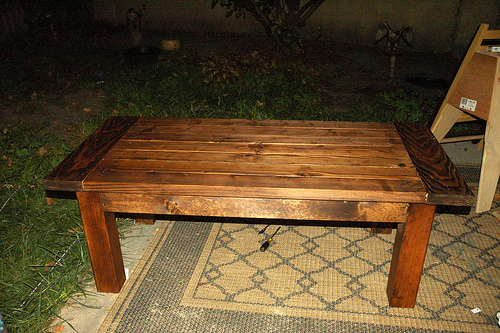 ana white tryde coffee table first build diy projects