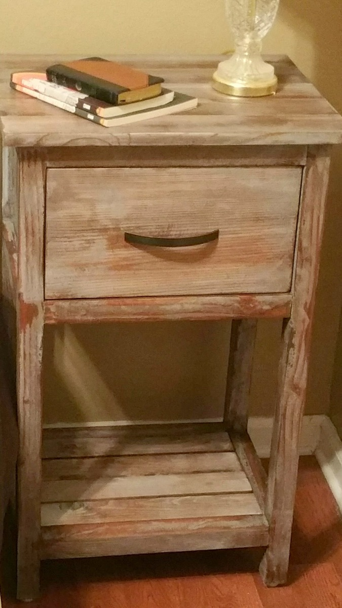 Ana White Night Stands Custom Sized And Finished Diy