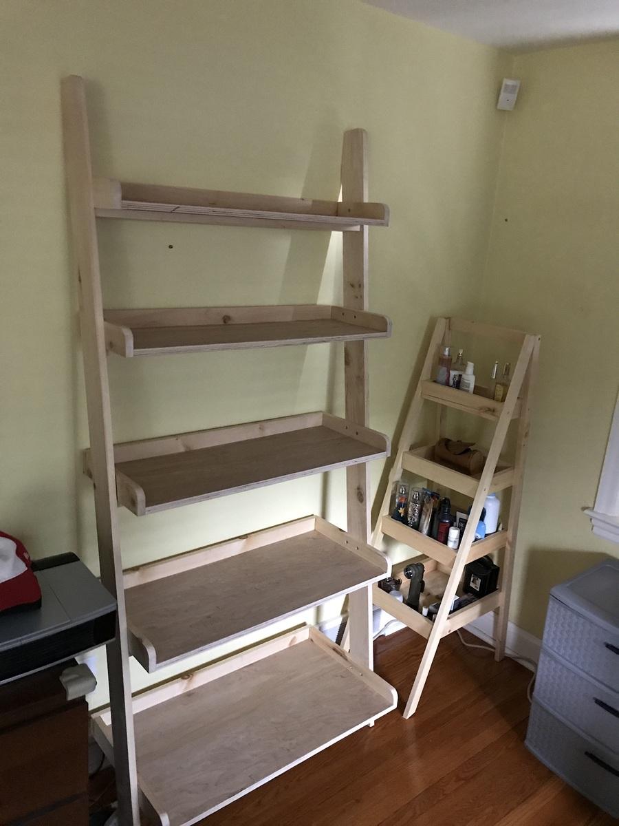 Leaning Wall Shelf Ana White