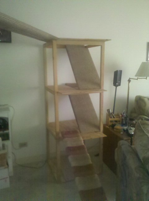 Vica cat tree building instructions for Cat tree plans